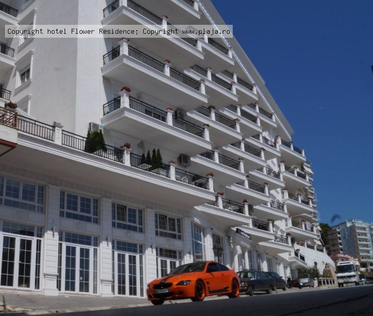 Aparthotel flower residence sarande albania oferte for Appart hotel saran