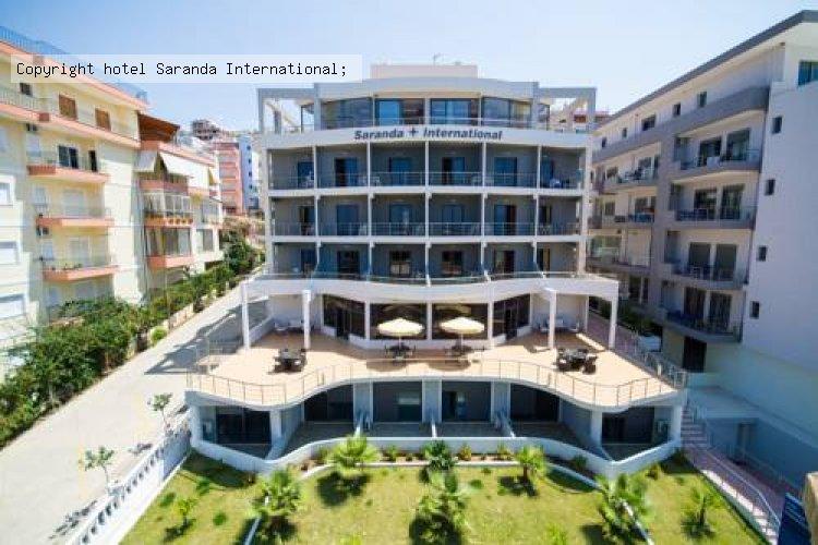 hotel saranda international sarande albania oferte litoral 2018 ofertele early booking si. Black Bedroom Furniture Sets. Home Design Ideas
