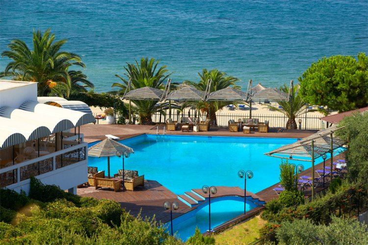 Beach Hotel Kamari Potos Insula Thassos Grecia
