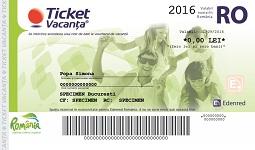 Ticket Vacanta - Edenred
