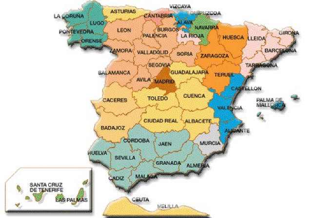 Boomer Blog Harta Spaniei