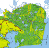 Harta Deltei Dunarii