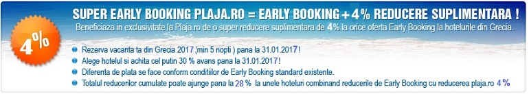 Super Early Booking Plaja.ro
