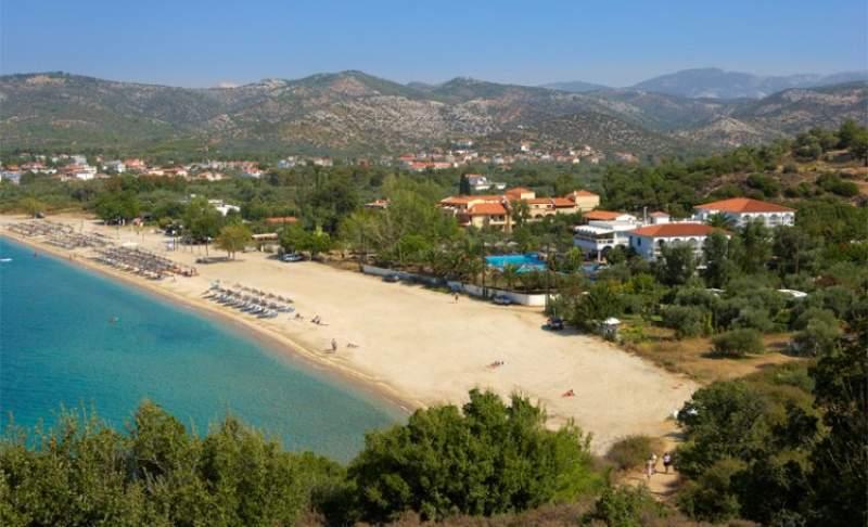 Beach Hotel Kamari Potos Insula Thassos Grecia Oferte Litoral